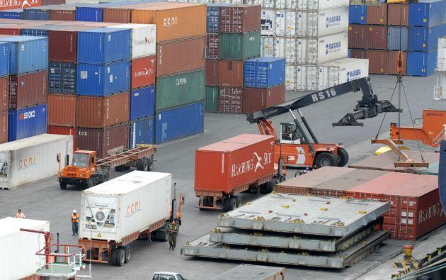 Colombia exporta a Ecuador alrededor de 1.900 millones de dólares e importa 900 millones al año. Foto: Archivo Vistazo