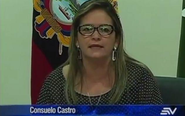 Intendenta de Policía, Consuelo Castro.