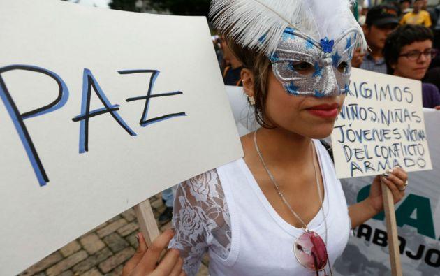 Una encuesta mostró que el 47% de colombianos cree que las negociaciones terminarán bien, contra el 44% que opina lo contrario. Foto: REUTERS