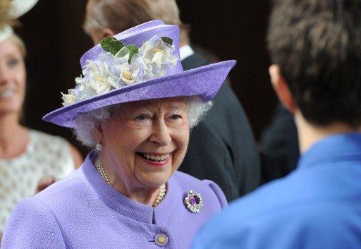 Reina Isabel II pasará el día en su residencia de Sandringham. Foto: AFP