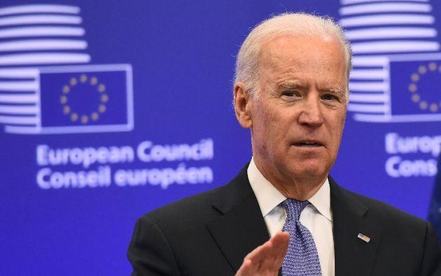 El vicepresidente de Estados Unidos, Joe Biden. Foto: AFP