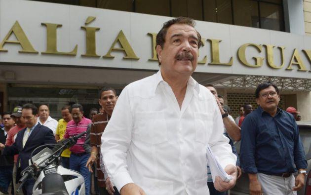 Nebot acudió a la Fiscalía este viernes. Foto: Ecuavisa.com