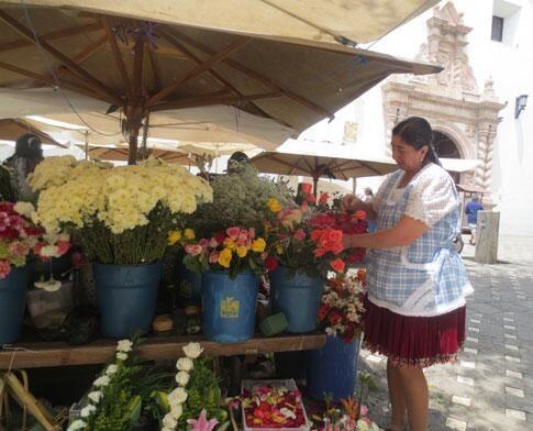 Expoflores registra en San Valentín una exportación aproximada de 13.600 toneladas. Foto: Twitter