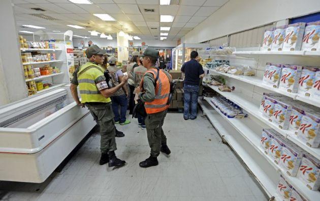 Maduro no aclaró si se trata de una expropiación. Foto: AFP