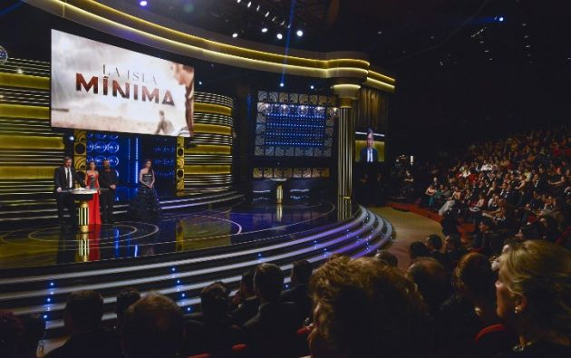''La isla mínima'' ganó a mejor película. Foto: AFP