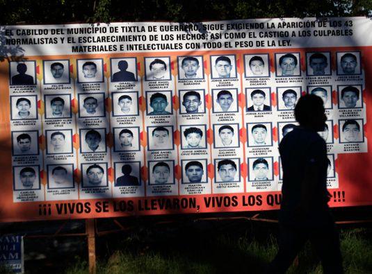 Los peritos argentinos no lograron identificar a ninguno de los estudiantes entre los restos encontrados en Iguala. Foto: REUTERS
