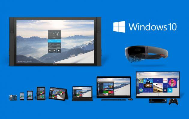 Windows 10 aspira a adaptarse tanto a computadoras como a smartphones y tabletas.