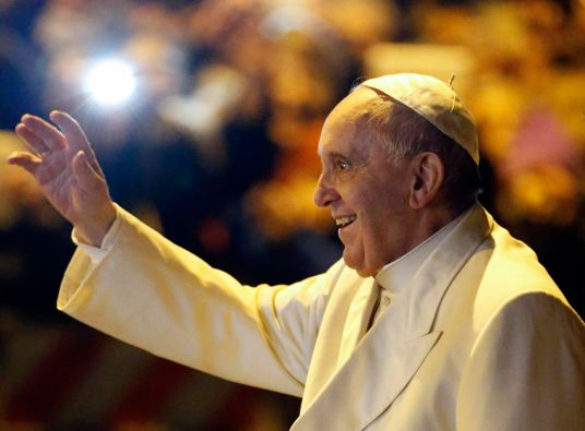 """""""En un matrimonio es una cosa fea el rencor"""", mencionó el pontífice. Foto: REUTERS"""