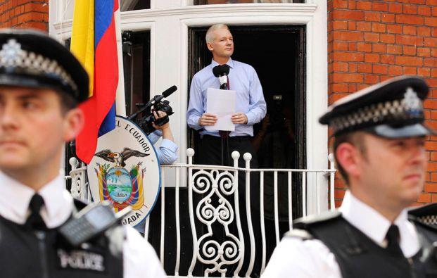 El australiano permanece en la Embajada de Ecuador en Londres desde junio de 2012. Poco después se le concedió el asilo. Foto: REUTERS
