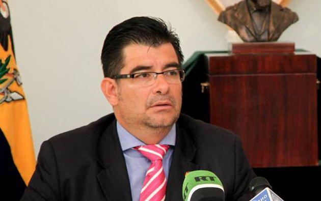 Patricio Alberto Chávez Zavala, embajador de Ecuador en Moscú.
