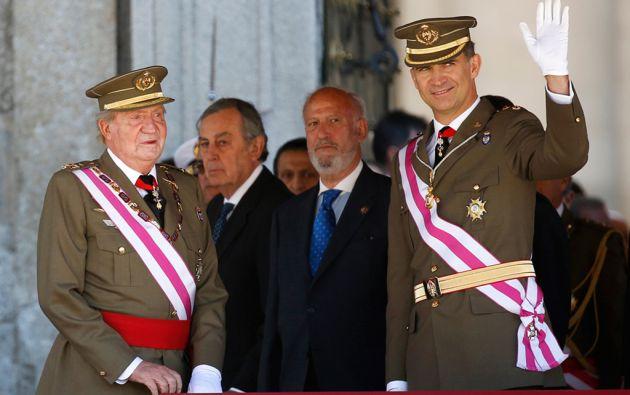 Juan Carlos I, quien abdicó al trono en junio de 2014, recibirá un sueldo anual de 187.356 euros. Foto: REUTERS