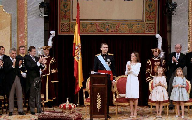 La reina Letizia recibirá 128.808 euros anuales. Foto: REUTERS