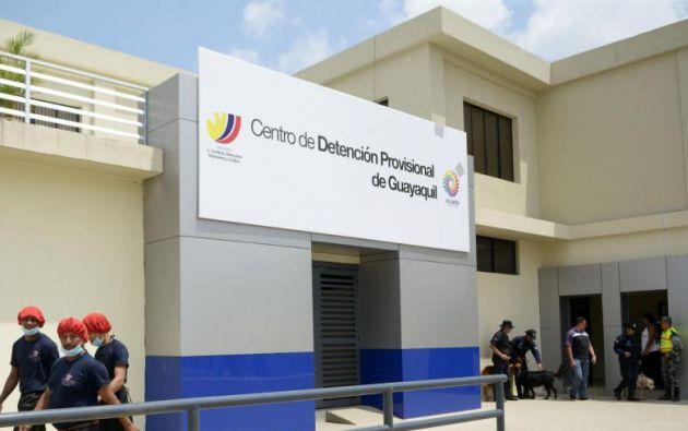 El edificio tiene capacidad para las 500 personas privadas de la libertad. Foto: Ecuavisa.com