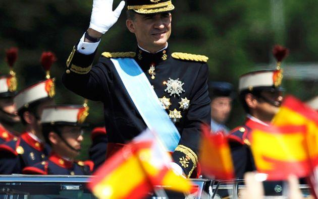 El sueldo de Felipe VI como jefe del Estado para 2015 será de 234.204 euros (unos 265.000 dólares). Foto: REUTERS