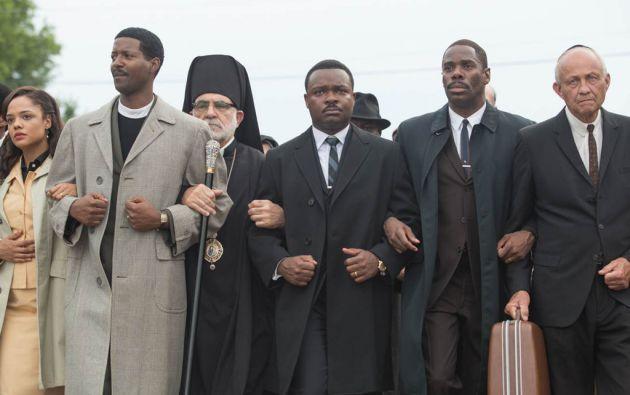 La película cuenta la campaña de Martín Luther King en 1965 en la ciudad de Selma, por entonces un bastión del racismo en el sur de EEUU.