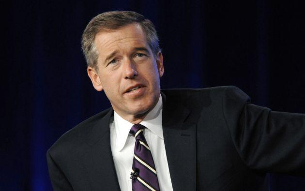 """El presentador de """"NBC Nightly News"""" en el 2010. Foto: REUTERS."""