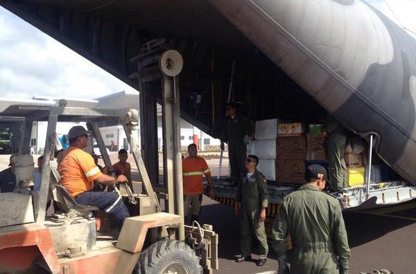 Aviones logísticos de las Fuerzas Armadas. Foto: FAE