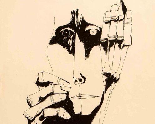 Obra de Oswaldo Guayasamín.