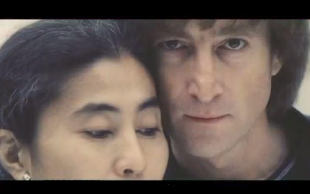 """""""Compañeros en la vida y en arte"""" contiene imágenes de la sesión de trabajos de Lennon y Ono para el disco """"Double Fantasy""""."""