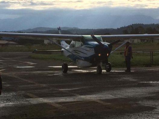 La avioneta se accidentó en Pastaza. Foto: DAC