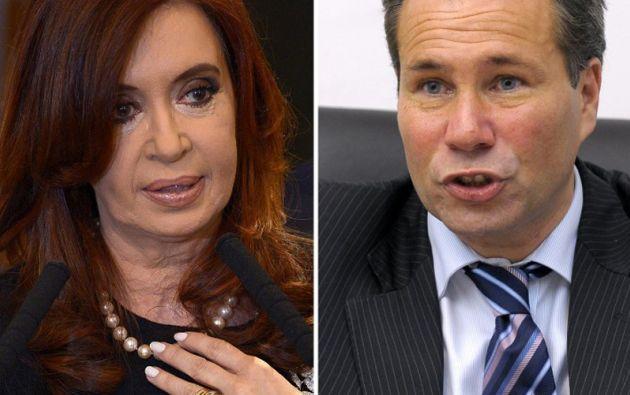 La muerte del fiscal Nisman sacudió el mandato de Cristina Fernández. Foto: AFP