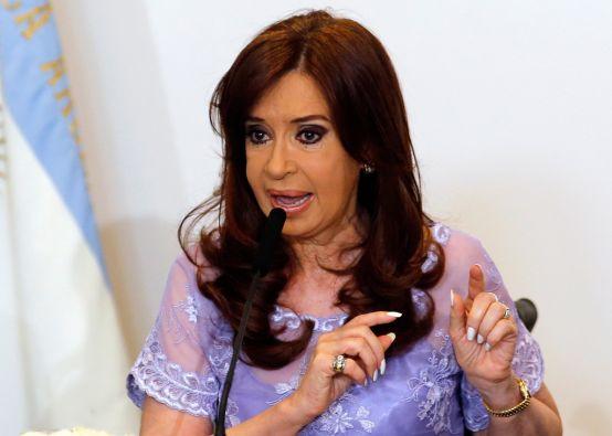 Cristina Fernández, presidenta de Argentina. Foto: REUTERS