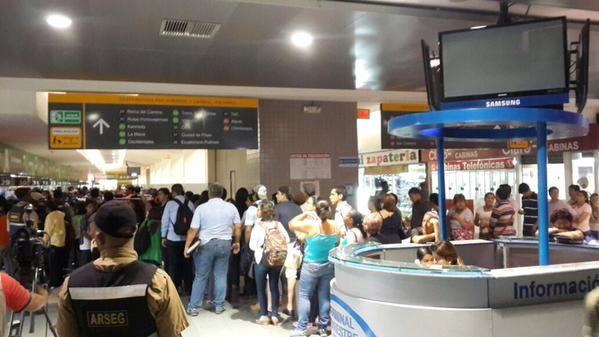 Terminal Terrestre de Guayaquil. Foto: ANT