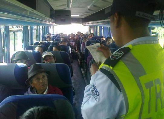 Foto: Agencia Metropolitana de Tránsito Quito