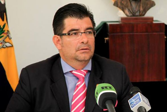 Patricio Chávez Zavala, embajador de Ecuador en Moscú.