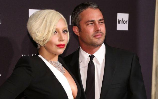 Lady Gaga y su novio se conocieron en el rodaje de uno de sus clips.