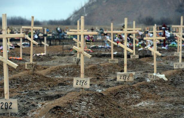 5.665 personas han muerto en diez meses de conflicto armado en el este de Ucrania. Foto: AFP
