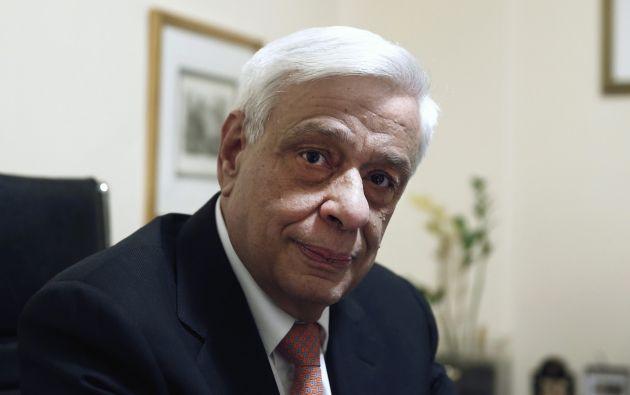 Prokopis Pavlopoulos. Foto: REUTERS