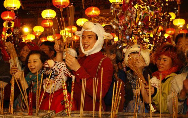 Pese a su carácter familiar, el Año Nuevo Chino colmará las calles de desfiles, ferias o espectáculos. Foto: REUTERS