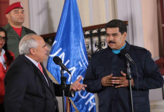 Samper dijo que en las últimas semanas ha mantenido intercambios con los gobiernos de la región sobre Venezuela. Foto: Unasur