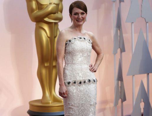 """Julianne Moore, nominada por """"Still Alice"""". Foto: REUTERS"""