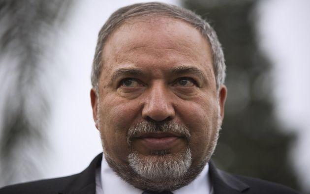 Avigdor Lieberman, ministro de Relaciones Exteriores de Israel. Foto: REUTERS.