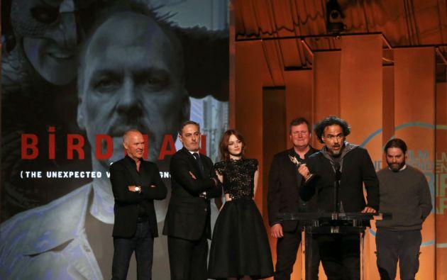 """""""Birdman"""" también fue la gran ganadora de los Spirit Awards de cine independiente. Foto: REUTERS"""