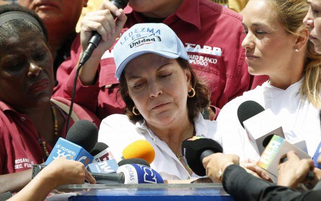 Mitzy Capriles. Foto: REUTERS