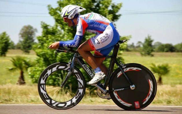 La comunidad ciclista de argentina está conmocionada por la muerte del excampeón panamericano Foto: Facebook.