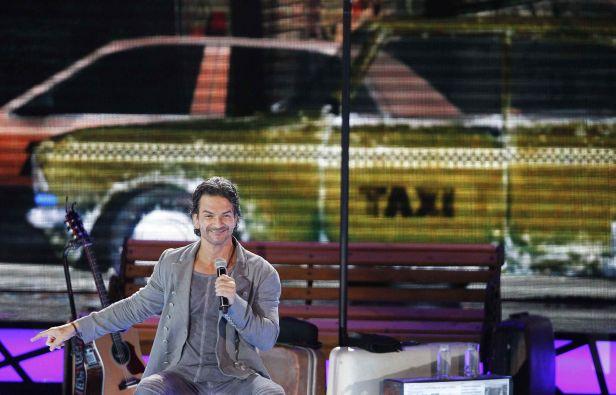 Arjona cantó por más de dos horas. Foto: REUTERS