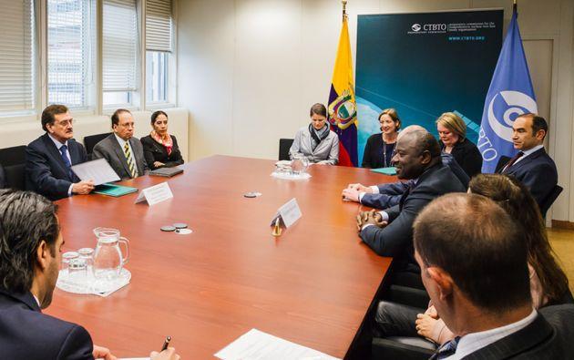 El acuerdo establece que el CTBTO entrenará a personal técnico ecuatoriano, encargado de operar y mantener las nuevas estaciones. Foto: FLICKR/CTBTO