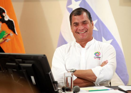 Rafael Correa calificó el encuentro de 'fanesca'. Foto: Flickr / Presidencia de la República