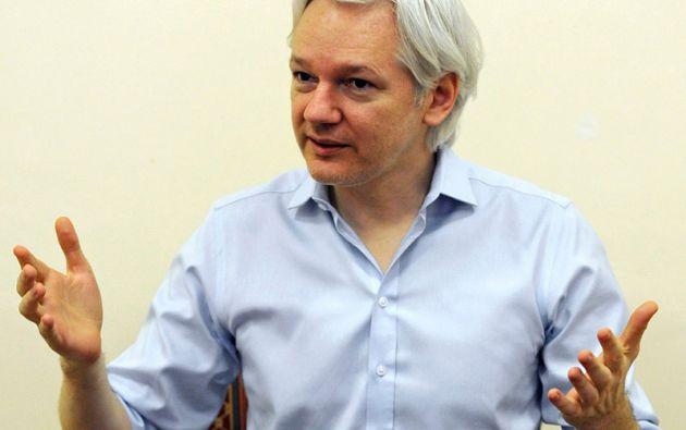 Julian Assange, fundador de Wikileaks. Foto: REUTERS