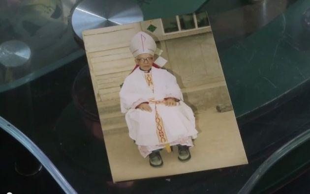 El obispo Shi murió a los 93 años. Foto: Captura de video.