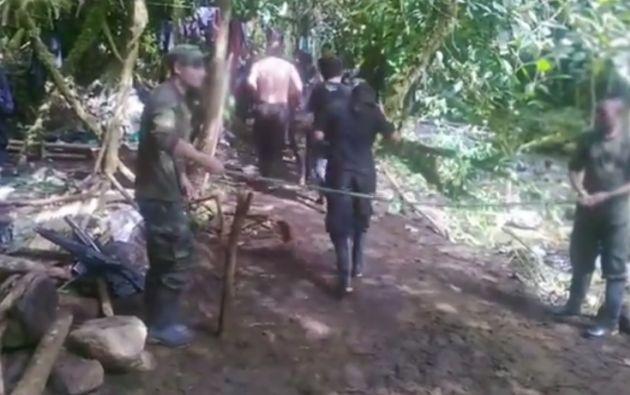El video fue grabado en noviembre del año pasado. Foto: Captura de video.