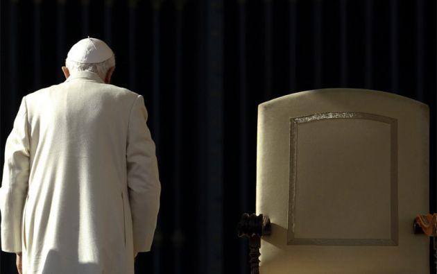 """Benedicto XVI renunció al papado porque le faltaban """"fuerzas"""" para encarar los desafíos del mundo moderno, decisión que no fue entendida por muchos prelados. Foto: REUTERS"""