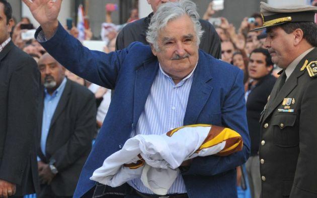 Mujica entrega este domingo la presidencia. Foto: AFP