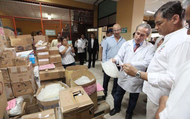 Visita del presidente Correa. Foto: Flickr / Presidencia de la República