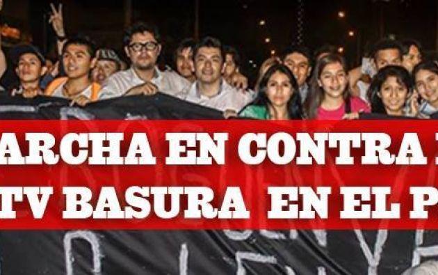 Foto: Facebook / Perú sin TV Basura