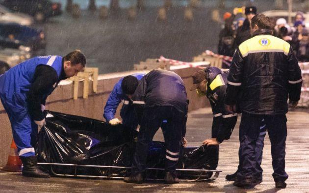 Fue asesinado el 27 de febrero. Foto: AFP